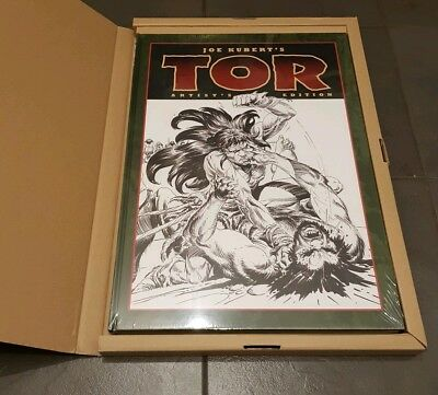 Joe Kubert's Tor Artist's Edition SEALED MINT first print | IDW