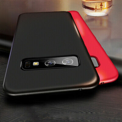 Matte Thin Slim Hard Case Full Protective Cover For Samsung Galaxy S10 Plus Skin