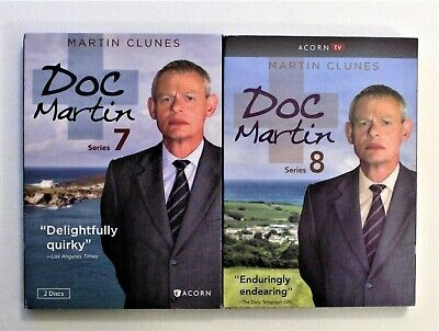 Doc Martin: Series 7and 8 (DVD, 2015and 2017)