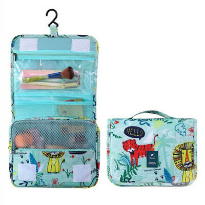 Hanging Travel Toiletry Bag - Folding Portable Waterproof Cosmetic Bag CB
