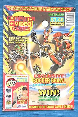 COMPUTER + VIDEO Magazine (includying GO! Issue, Handheld Game Watch). 1992!