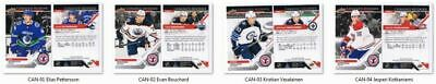 2019 Upper Deck National Hockey Card Day Complete Set - Elias Pettersson