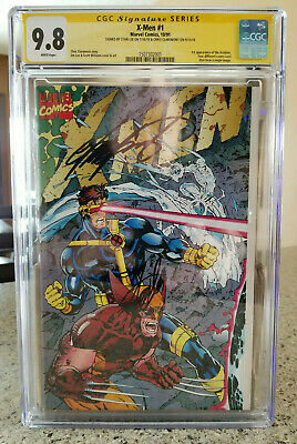 X-Men #1 CGC 9.8 Signed by Stan Lee & Chris Claremont (Marvel, 10/91)