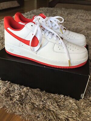 NIKE AIR FORCE 1 Low Retro Ct16 Qs 'Fo 'Fi' Fo' (Aq5107 100) Size Uk 11.5