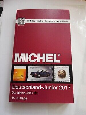 STAMP CATALOGUE MICHEL GERMANY DEUTSCHLAND 2017 all stamps shown in COLOR, NEW