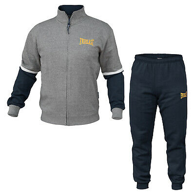 Tuta Homewear Uomo EVERLAST Cotone Felpato Full Zip Art.31004