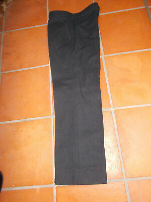 AMCO Mens Trousers - Smart Black - AS NEW - MADE IN AUSTRALIA