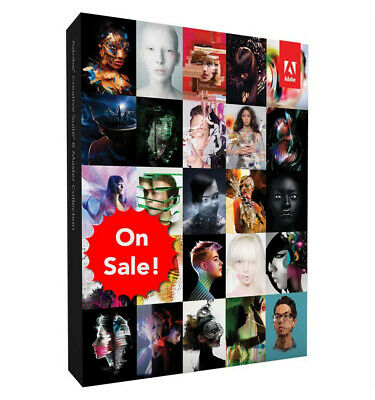 Adobe suite CS6 Master Collection CS6 (Retail) - Full Version for Windows or Mac