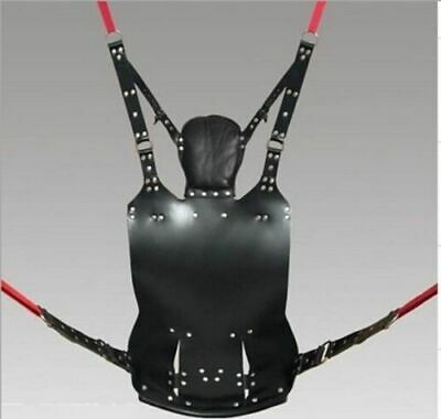 Heavy Duty Leather Play Room Sex Swing / Sling 100% Adult Play Room Fun