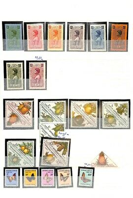 [OP8706] Gabon lot of stamps on 10 pages - see photos on description
