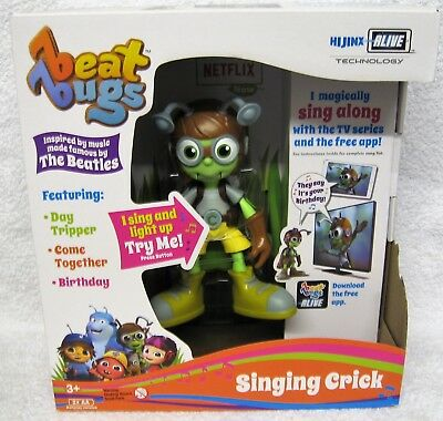 Netflix Beat Bugs Singing Crick Interactive Toy The Beatles Songs