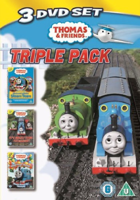 Thomas the Tank Engine and Friends: Triple Pack (UK IMPORT) DVD NEW