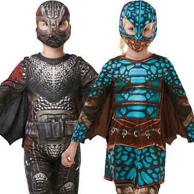 Boys Deluxe Battle Hiccup How To Train Your Dragon Fancy Dress Costume 3-10Yrs Costumes, Reenactment, Theater Clothing, Shoes & Accessories