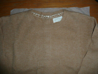 BNWT Next Light Brown Girl's Jumper in 100% Cashmere/ Age 18-24 months/ Lovely
