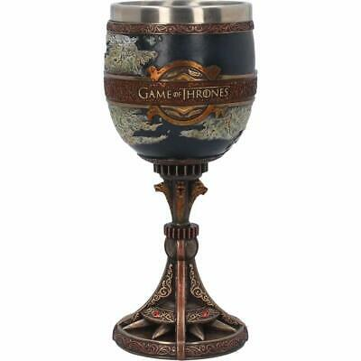 The Seven Kingdoms Goblet Collectible Game of Thrones Wine Glass Drinking Vessel