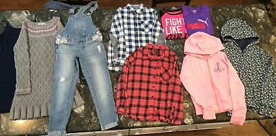 Lot of 9 Pieces of Girls Name Brand Clothing Sizes 6/6X, 7/8 & 10 EUC!