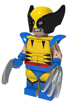 X-Men: The Movie The Wolverine Marvel Comics Super Hero Building Blocks New 2019