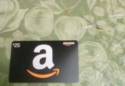 $25 Amazon Gift Card Certificate free s/h