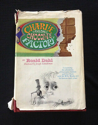Charlie and the Chocolate Factory by Roald Dahl HC w/DJ 1st Ed
