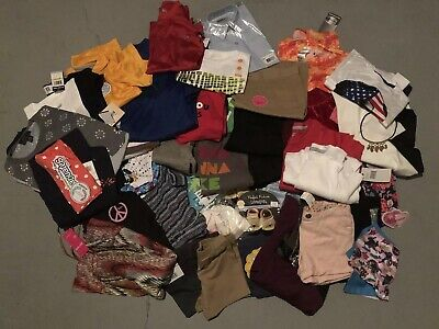 60 pc Boys/Girls Clothing Lot Brand Names NEW