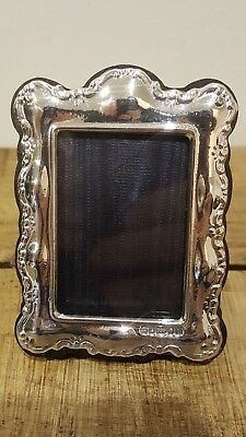 999 Solid Silver Photo Frame Fully Hallmarked London Perfect Mothers Day Gift