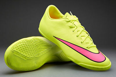 official photos 59035 636ca Nike Mercurial Victory V Ic Intérieur Football Cr7 Chaussures Volt   Noir