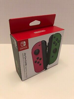Nintendo Switch - Joy-Con (R) (L) Wireless Controllers Neon Pink / Neon Green