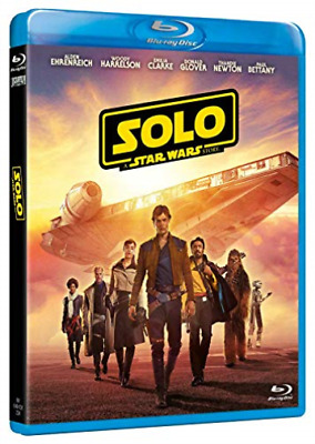 Movie-Solo, A Star Wars Story (UK IMPORT) BLU-RAY NEW
