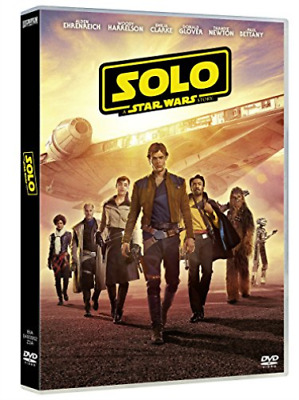 Movie-Solo, A Star Wars Story (UK IMPORT) DVD NEW