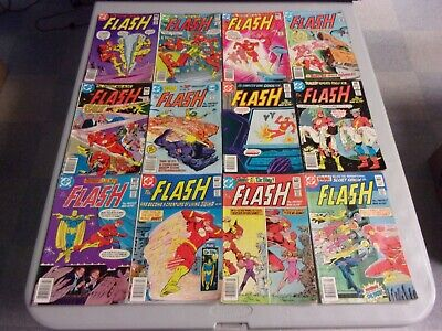 The Flash Bronze-Copper Age Mixed 50 Issue Lot (#300/trial/professor Zoom)