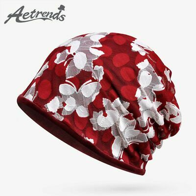 [AETRENDS] Winter Caps with Multi-function Velvet Beanies Collar Scarf Warm
