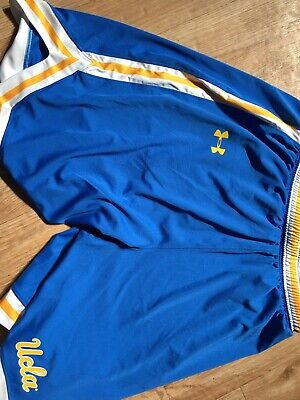 Under Armour UCLA Bruins Blue Performance Replica Basketball Shorts Sized  Small e9cd1d177