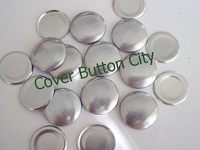 200 Size 36 (7/8 inch) Cover Buttons - FLAT BACKS