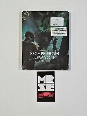 Escape from New York Limited Edition Blu-ray Steelbook John Carpenter New