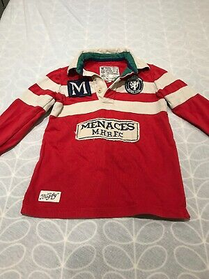 Boys Joules Rugby Shirt 5 Year Old