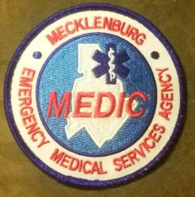 Mecklenburg Emergency Medical Services Agency Patch / MEDIC patch