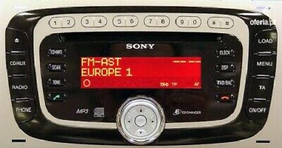 Ford Sony 6000 Radio Unlock Code Super Fast Service (5 To 60 Minute)