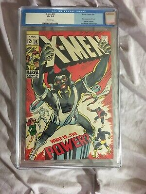X-Men # 56 CGC 8.5 1st Appearance Of The Living Monoliath