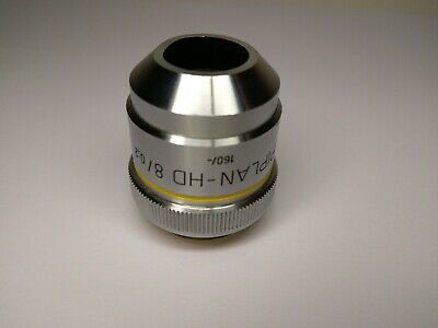 Zeiss Microscope Objective Epiplan HD 8x /0,20 No delamination !