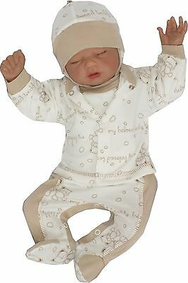 4 Tlg Set Baby Starterset First Outfit 50 56 62 68 100