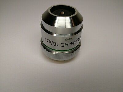 Zeiss Microscope Objective Epiplan HD 16x /0,35 No delamination !