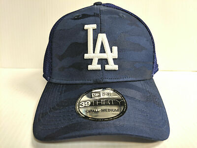 Los Angeles Dodgers Cap New Era 39Thirty Stretch Fit Mesh Camo Front Neo Hat 9626f0144228