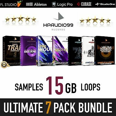 SAMPLES AND LOOPS - Sounds Music DJ & Producer Bundle Pack - Best Quality .WAV's