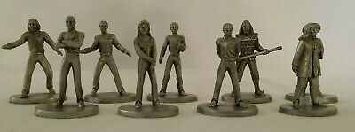 Star Trek Signed Guthrie Rawcliffe Pewter Lot Picard Deanna Troi Crusher MORE