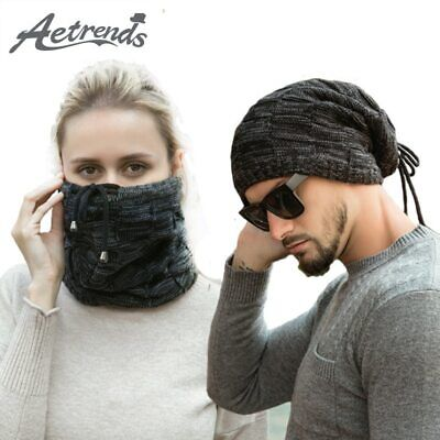 [AETRENDS] 2019 Winter Top Empty Knitted Beanie Hats for Men Women Girl