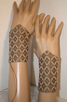 Small Renaissance or Steampunk Lace Up Choose 1 of 9 Fabrics