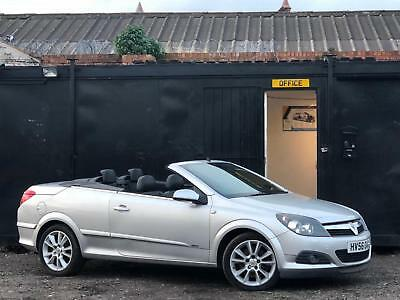 * VAUXHALL ASTRA 1.9 CDTi DESIGN TWINTOP CONVERTIBLE + FULL LEATHERS + ALLOYS *