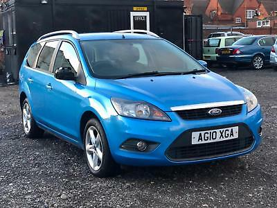 * 2010 Ford Focus 1.6 Zetec Estate Automatic + Auto + Alloys + Roof Bars *