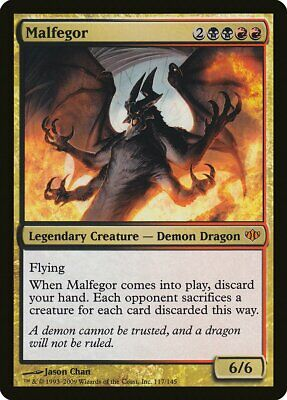 Planeswalker Conflux NM Mythic Rare MAGIC GATHERING CARD ABUGames Nicol Bolas