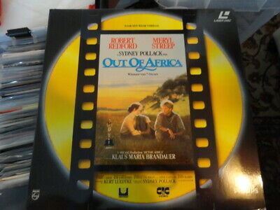 'Out Of Africa' 1991 Dutch Edition Double laser Disc -PAL-